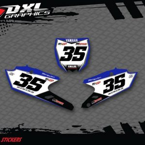 MOTOCROSS-ENDURO NUMBER PLATES